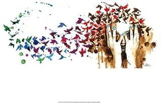 Bird, Birds, Birds by Lora Zombie 20x14 Fine Art Print Poster
