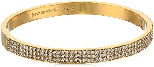 Kate Spade New York Heavy Metals Pave Row Bangle Bracelet