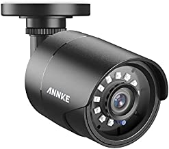 ANNKE 1080p Security Camera 4-in-1 CCTV Bullet Wired Camera, AHD/TVI/CVI/CVBS, IP66 Weatherproof Analog Surveillance Video Add–On Camera for Indoor and Outdoor Use, 100 ft Clear Night Vision - E200