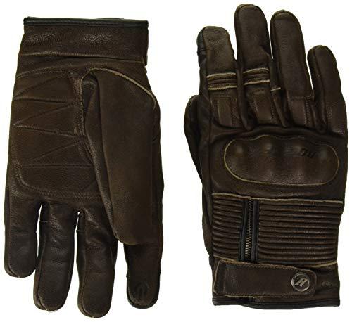 Joe Rocket Men's Briton Motorcycle Glove (Brown, Large)