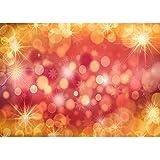 Fondo de fotografía de Navidad de Vinilo Accesorios Flor y Tablero de Madera Tema Estudio fotográfico Fondo de fotografía A29 10x10ft / 3x3m