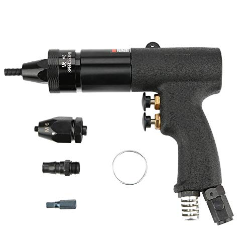 Luftnietmutter Pistole Automatische pneumatische Nietpistole Zugmutter Werkzeug(M6/M8-KP-739A)