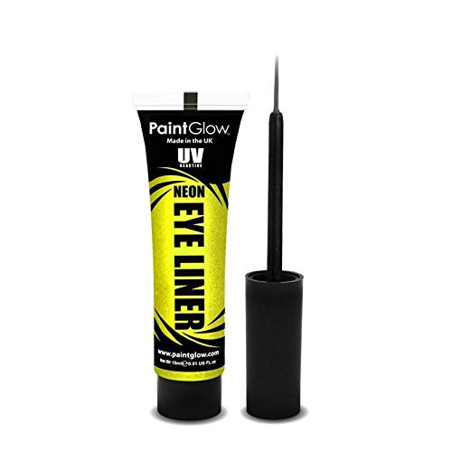 PaintGlow NEON Eye liner Geel