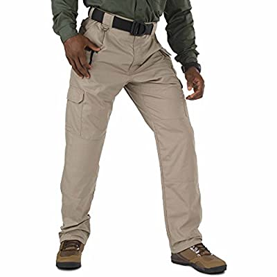 5.11 Men's Taclite Pro Tactical Pants, Style 74273, Stone, 34Wx30L