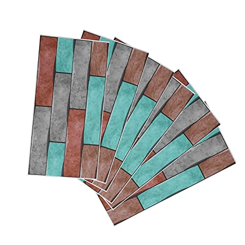 Papel pintado autoadhesivo, etiqueta engomada del piso del embellecimiento antiincrustante a prueba de aceite para la cocina