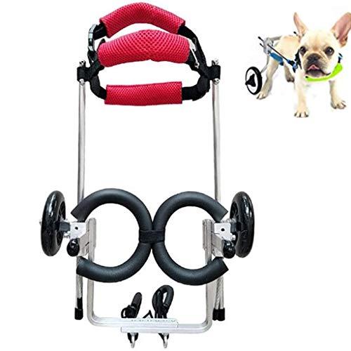 Sillas ruedas perros ajustables 2 ruedas gatos perros