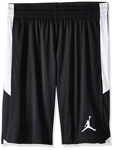 Nike Herren Shorts Jordan Dri-FIT 23 Alpha, Black/White/White, M, 905782-013