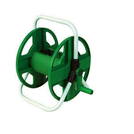 kaige Soporte de Pared portátil mangueras de jardín 10-40 M Medio de tuberías de Agua de la Lavadora, el Car de Herramienta automático del Estante del sostenedor del Soporte (Color: Verde) WKY