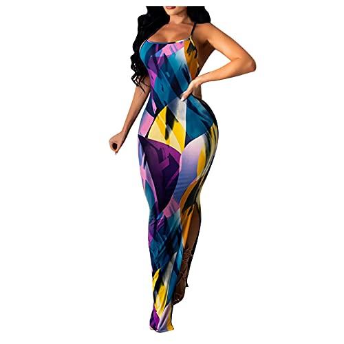 Dasongff Sommer Mini Kleid Damen Sommerkleid Kleider Strandkleid Dress Gestreift Sommerkleid V-Ausschnitt Streifen Freizeitkleider Maxikleid Cocktailkleid Elegant Kurze Strand Loose Dress