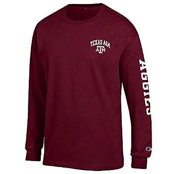 Elite Fan Shop Texas A&M Aggies Long Sleeve Tshirt Letterman Maroon - XX-Large