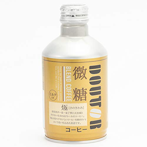 ドトールコーヒーブラックコーヒーレアル微糖260g×24本