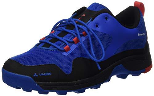 VAUDE Men's Tvl Comrus Tech STX, Chaussures de Randonnée Basses Homme, Bleu (Fjord Blue 843), 46 EU