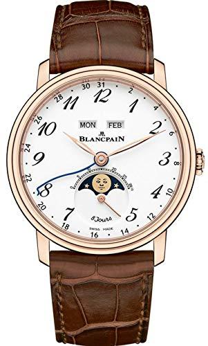 Blancpain Villeret Complete Calendar, 8 Day Power Reserve Mens Watch