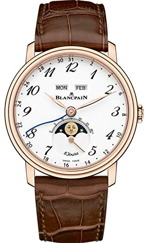 Blancpain Villeret Complete Calendar, 8 Day Power Reserve Mens Watch