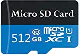 Scheda di memoria Micro SD da 256 GB classe 10 ad alta velocità Micro SD SDXC Card con adattatore SD 512 GB.