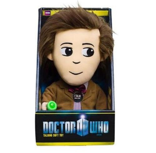 Underground Toys - Doctor Who - Peluche du 11th Doctor parlante 22cm - 0882041005677
