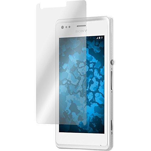 PhoneNatic 2er-Pack Bildschirmschutzfolien klar kompatibel mit Sony Xperia M