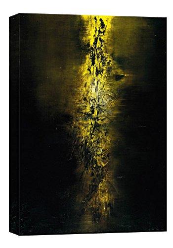Stampe su tela di Zhaowuji1 della parete di arte, pitture a olio di alta qualità per la decorazione domestica (60cm x 90cm) (Unframed)