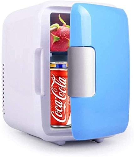 FDSZ Coche Mini refrigerador, refrigerador de Coche portátil, calefacción de automóviles y congelador de Caja de refrigeración, Mini Bar de Escritorio refrigerador 4L