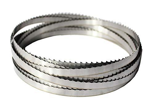 Wnuanjun 3 stücke Importierte Material Holzbearbeitungsband Sägeblätter zum Schneiden von Hartholz Multitool für Holz Schneidband Sägemaschine (Größe : 3pcsx1712x16x0.5mm)
