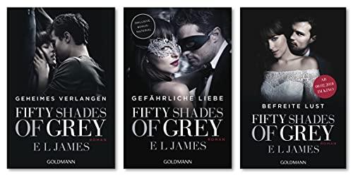 """E L James-Set: """"Geheimes Verlangen"""" + """"Gefährliche Liebe"""" + """"Befreite Lust"""" (Fifty Shades of Grey, Band 1–3)"""