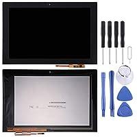LCD display + touch screen Lenovo YOGA Book YB1-X91L用の交換用液晶画面+タッチスクリーンとデジタイザフルアセンブリ(ブラック) for Lenovo (色 : Black)