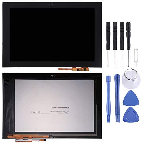 Reparación de Piezas de Repuesto para teléfonos móviles Pantalla LCD y ensamblaje Completo del digitalizador for Lenovo Yoga Book YB1-X91L (Negro) (Color : Negro)
