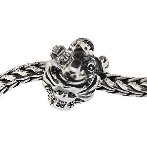 Auténtica plata de ley Trollbeads 11443find-your-pet