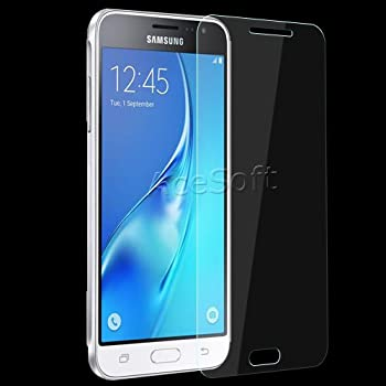 Heavy-Duty Wear-Resisting Anti-Strike Tempered Glass Screen Protector Film Guard Shield Saver Armor Cover for Samsung Galaxy J36V SM-J320V Verizon Phone