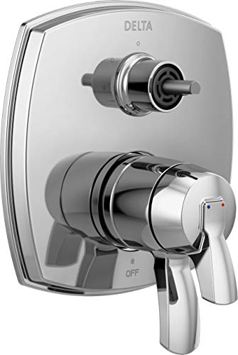 DELTA FAUCET T27876-LHP 17 Series Integrated Three Function Less Handle Shower Trim with Diverter, Chrome