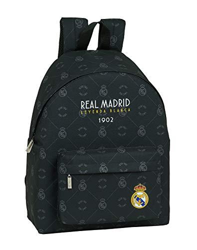 Safta 642002774 Mochila grande escolar, casual Real Madrid CF