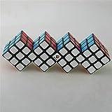 STST Tercer Orden 4-en-1 Siamese Mix and Match Puzzle Alien Cube Rompecabezas Rompecabezas Juguetes educativos de Alta dificultad