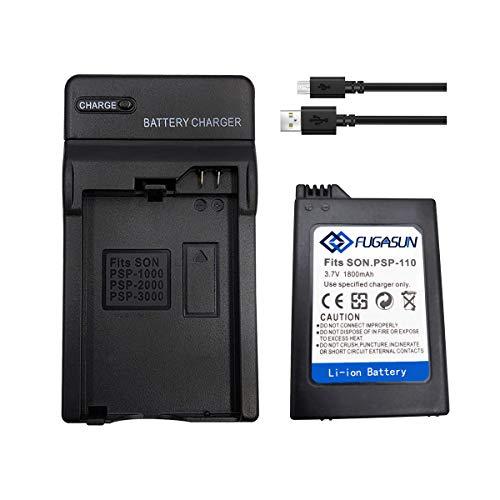 1 Piezas 1800 mAH batería PSP-110 batería PSP 110 con...