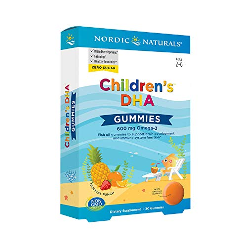 Nordic Naturals Children's DHA Gummies, Tropical Punch -...
