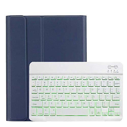 GHC Pad Fundas & Covers para iPad Pro 2020 11 Pulgadas, Teclado retroiluminado, a Prueba de Golpes, Caja de protección de Cuero, Cubierta de Soporte para iPad Pro 2nd Gen 2020 (Color : Orange)