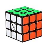 MZStech Nuovo cubo Magico 3x3x3 del cubo di velocità di Valk 3 Nero