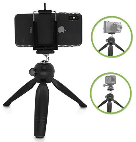 MyGadget Mini Trípode Compacto para Cámara Reflex y Smartphones ...