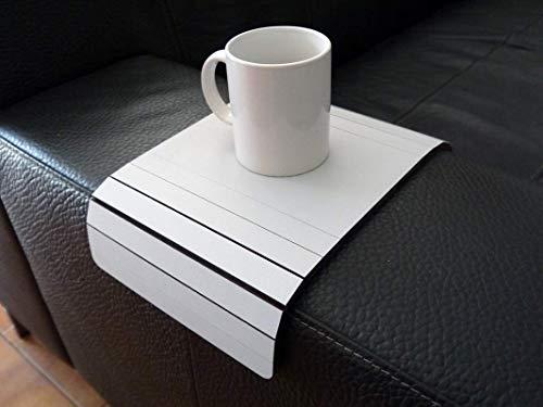 Holz sofa armlehnentisch in vielen farben wie wolke grau Armlehnentablett Moderner tisch für couch Klein schleichendes sofatisch Armlehne flexibel tablett Falten couchtisch Kleine tische