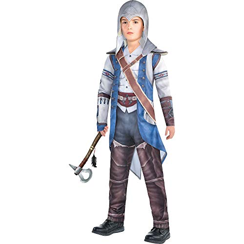 Party City Connor Halloween Costume for Boys, Assassin's Creed, Large, Includes Accessories