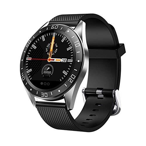 Exquisito, hermoso, decente, novedoso y único. Relojes inteligentes para hombres y mujeres, reloj deportivo de 1.22 pulgadas con frecuencia cardíaca y funciones de control de presión arterial, compati