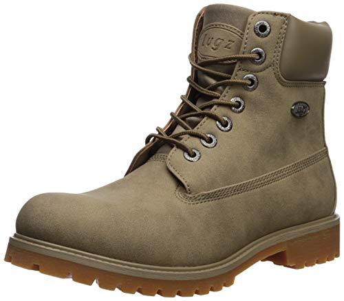 Lugz Men's Convoy Fashion Boot, Wet Sand/Gum, 10 D US