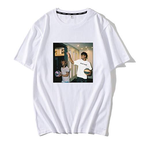 Harajuku Playboi Carti Vintage Print Tshirts Men Hip Hop Casual Streetwear Tops Tee 2020 Summer Male Short Sleeve Man's T-Shirt