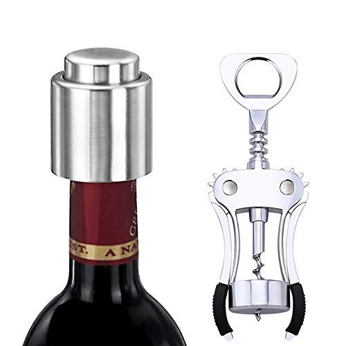 Chingde Abrebotellas de vino, Sacacorchos de cerveza abridor de vino manual Sacacorchos...