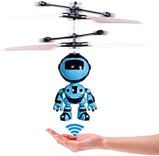 Acrotor RC Helicopter Gifts Flying Robot RC Toys Hand Controlled Drone Quadcopter Flying Toys for Kids