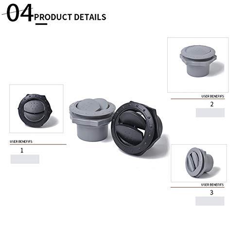 XuBaofu, 2 sets universeel ronde A/C Air Outlet ventiel voor RV bus boot jacht airconditioning accessoires reparatieset deel heter