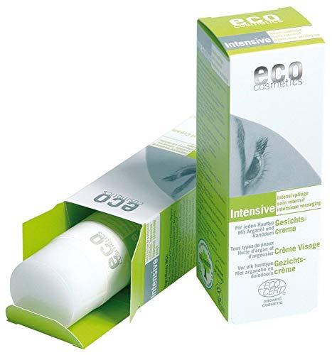 eco cosmetics Bio Intensive Gesichtscreme mit Arganöl und Sanddorn (2 x 50 ml)