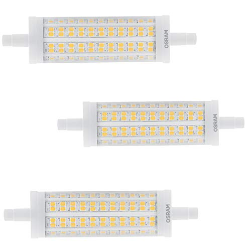 OSRAM LED STAR LINE R7s Stablampe 17,5W=150W 2452 lm warm 2700K 118mm nondim 3er