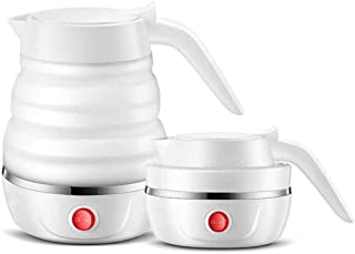 Bouilloire de Voyage Pliable Chauffe-Eau Portable à ébullition Rapide électricité Rapide à Double Tension pour Le thé au c...