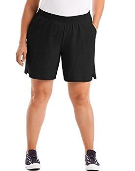Best plus size cotton shorts Reviews