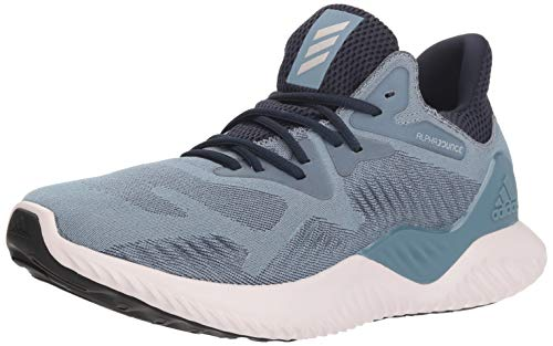 adidas Women's Alphabounce Beyond Running Shoe, raw grey/orchid tint/legend ink, 8.5 M US